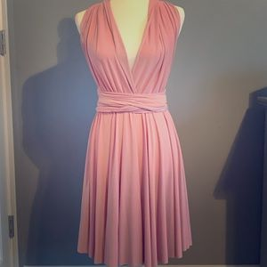 Dresses & Skirts - Light Pink Formal Dress Uniquely Made Size 4 Cute